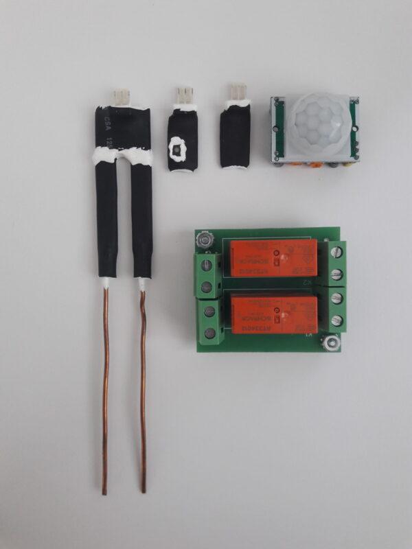 Датчики и модули для блока управления MIV